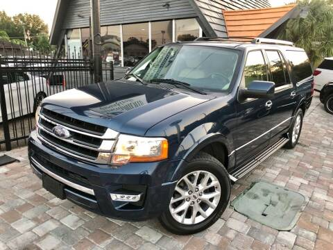 2016 Ford Expedition EL for sale at Unique Motors of Tampa in Tampa FL