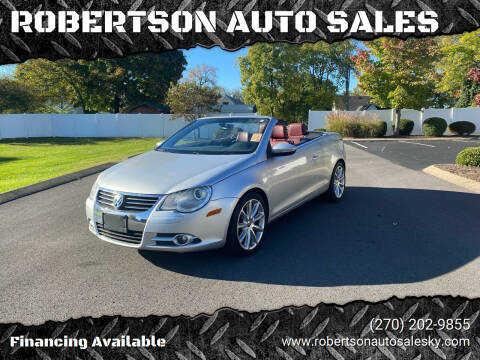 2011 Volkswagen Eos for sale at ROBERTSON AUTO SALES in Bowling Green KY