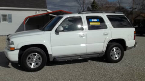 2004 Chevrolet Tahoe for sale at MIKE'S CYCLE & AUTO - Mikes Cycle and Auto (Liberty) in Liberty IN