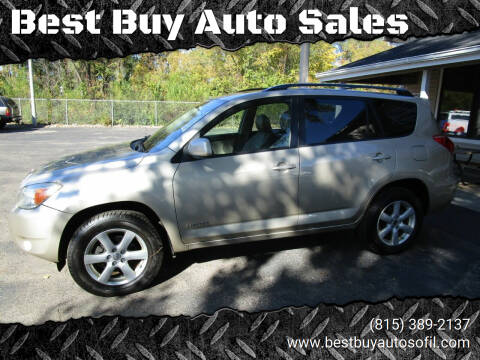 2008 Toyota RAV4 for sale at Best Buy Auto Sales in South Beloit IL