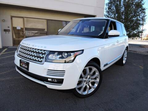 2016 Land Rover Range Rover for sale at PK MOTORS GROUP in Las Vegas NV