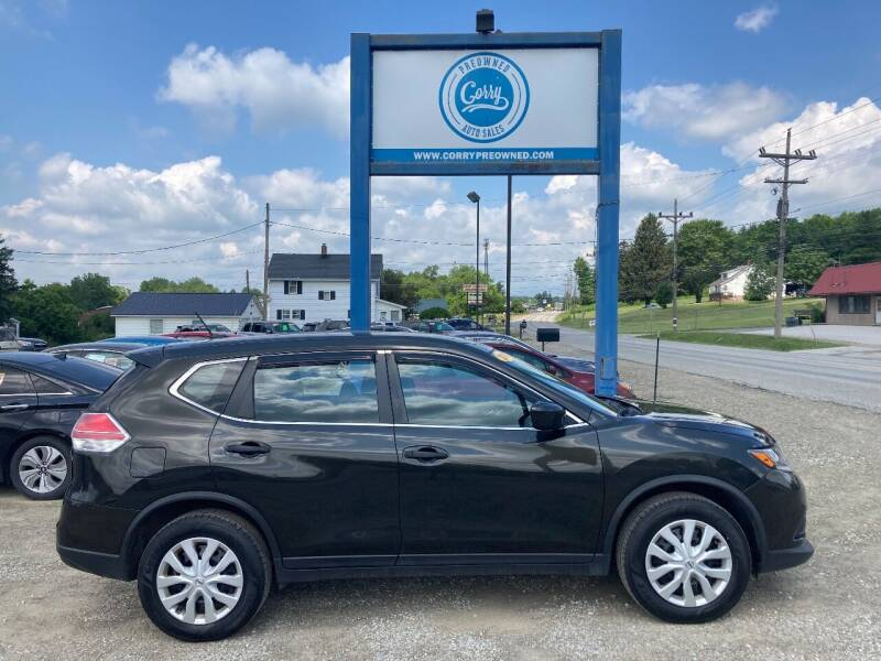 2016 Nissan Rogue for sale at Corry Pre Owned Auto Sales in Corry PA