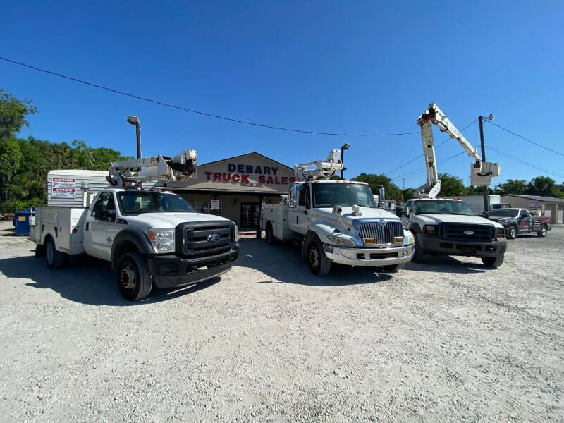 2006 Ford F-450 Super Duty for sale at DEBARY TRUCK SALES in Sanford FL