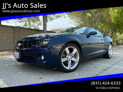 2012 Chevrolet Camaro for sale at JJ's Auto Sales in Salinas CA
