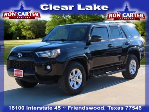 2016 Toyota 4Runner for sale at Ron Carter  Clear Lake Used Cars in Houston TX