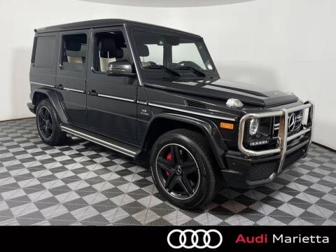 2018 Mercedes-Benz G-Class for sale at CU Carfinders in Norcross GA