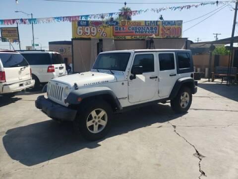 2010 Jeep Wrangler Unlimited for sale at DEL CORONADO MOTORS in Phoenix AZ