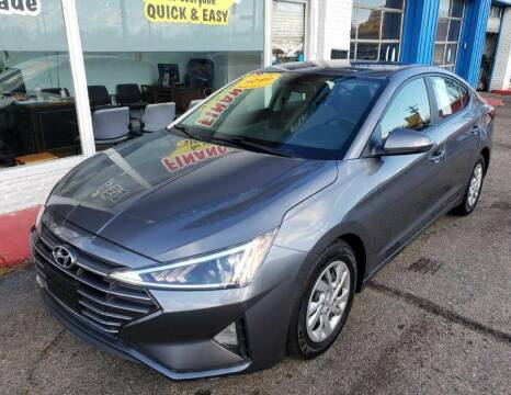2019 Hyundai Elantra for sale at AutoMotion Sales in Franklin OH
