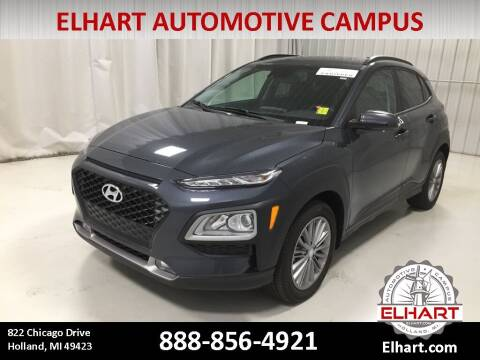 2021 Hyundai Kona for sale at Elhart Automotive Campus in Holland MI