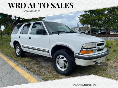 2000 Chevrolet Blazer for sale at WRD Auto Sales in Hollywood FL