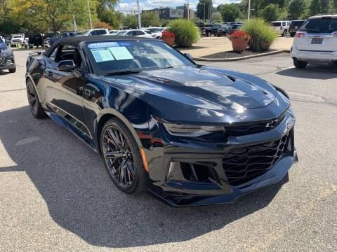 2018 Chevrolet Camaro for sale at Ganley Chevy of Aurora in Aurora OH