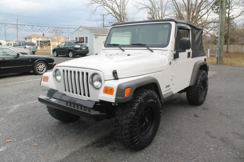 2006 Jeep Wrangler for sale at Manny's Auto Sales in Winslow NJ