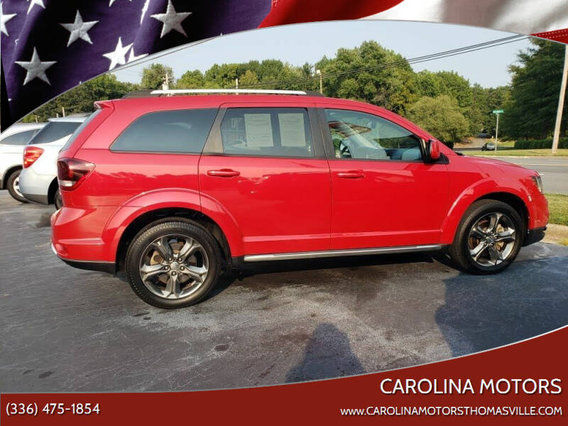 2015 Dodge Journey for sale at CAROLINA MOTORS in Thomasville NC