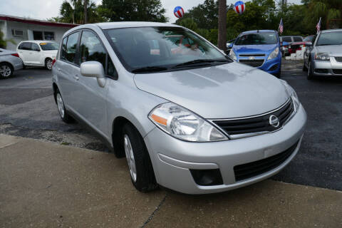 2012 Nissan Versa for sale at J Linn Motors in Clearwater FL