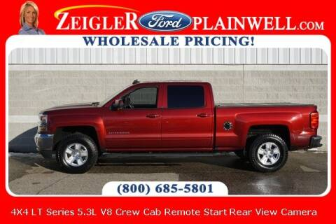 2017 Chevrolet Silverado 1500 for sale at Zeigler Ford of Plainwell- Jeff Bishop in Plainwell MI