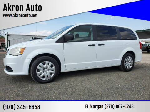 2019 Dodge Grand Caravan for sale at Akron Auto in Akron CO
