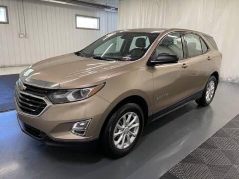 2018 Chevrolet Equinox for sale at Monster Motors in Michigan Center MI