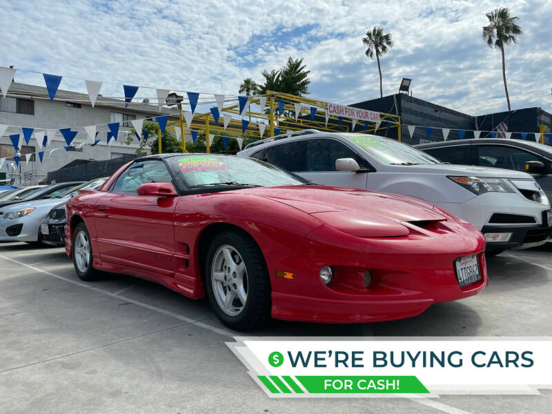 2001 Pontiac Firebird for sale at FJ Auto Sales North Hollywood in North Hollywood CA