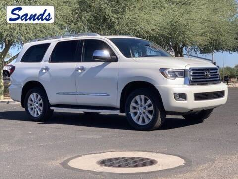 2019 Toyota Sequoia for sale at Sands Chevrolet in Surprise AZ