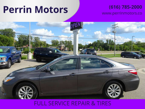 2016 Toyota Camry for sale at Perrin Motors in Comstock Park MI