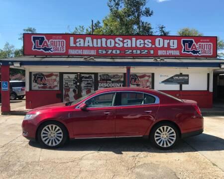 2013 Lincoln MKS for sale at LA Auto Sales in Monroe LA