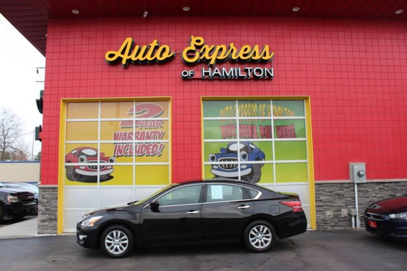 2012 Nissan Altima for sale at AUTO EXPRESS OF HAMILTON LLC in Hamilton OH