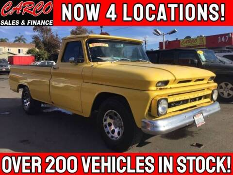 1964 Chevrolet C/K 10 Series for sale at CARCO SALES & FINANCE #3 in Chula Vista CA