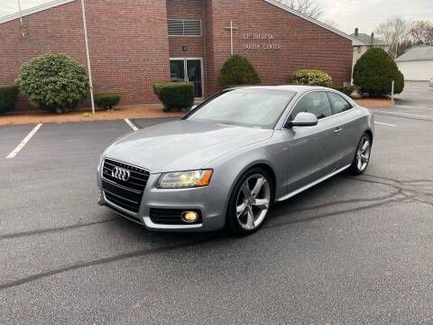 2009 Audi A5 for sale at New England Cars in Attleboro MA