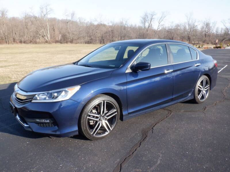 2017 Honda Accord for sale at MIKES AUTO CENTER in Lexington OH
