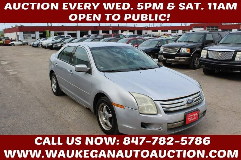 2006 Ford Fusion for sale at Waukegan Auto Auction in Waukegan IL