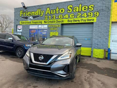 2020 Nissan Murano for sale at Friendly Auto Sales in Detroit MI