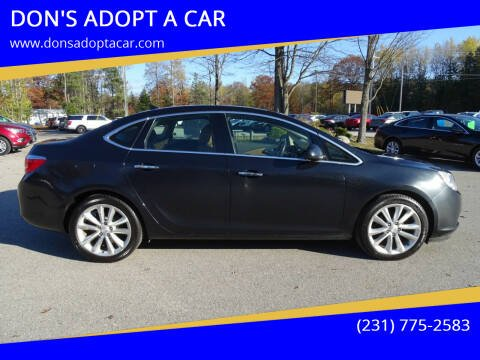 2013 Buick Verano for sale at DON'S ADOPT A CAR in Cadillac MI