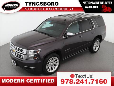 2015 Chevrolet Tahoe for sale at Modern Auto Sales in Tyngsboro MA