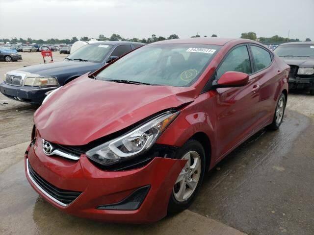 2015 Hyundai Elantra for sale at RAGINS AUTOPLEX in Kennett MO