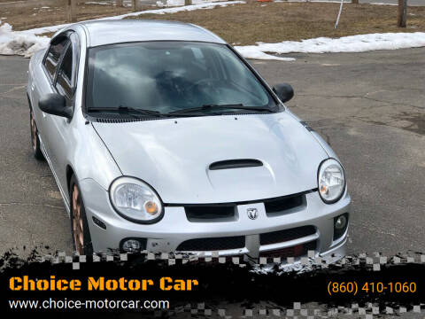 2003 Dodge Neon SRT-4 for sale at Choice Motor Car in Plainville CT