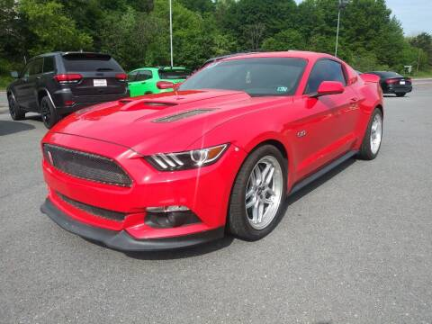 2015 Ford Mustang for sale at Mulligan's Auto Exchange LLC in Paxinos PA