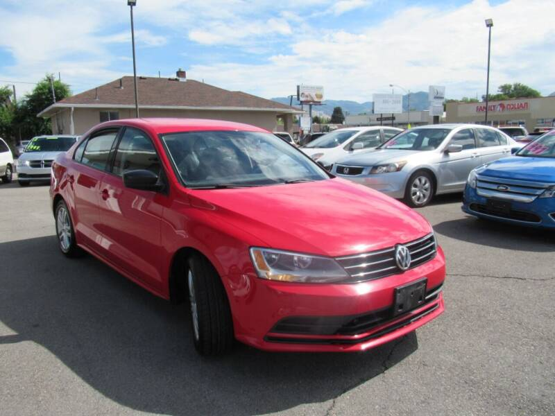 2015 Volkswagen Jetta for sale at Crown Auto in South Salt Lake UT