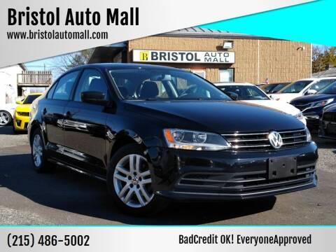 2015 Volkswagen Jetta for sale at Bristol Auto Mall in Levittown PA
