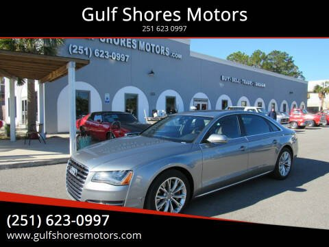 2011 Audi A8 L for sale at Gulf Shores Motors in Gulf Shores AL