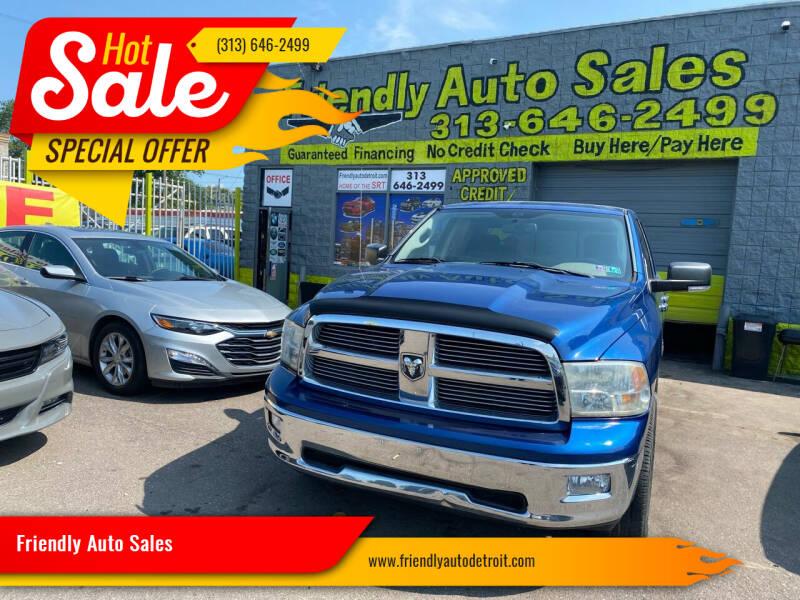 2010 Dodge Ram Pickup 1500 for sale at Friendly Auto Sales in Detroit MI