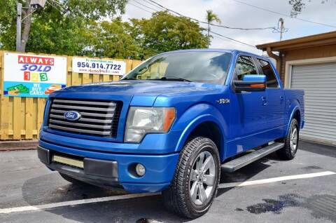 2010 Ford F-150 for sale at ALWAYSSOLD123 INC in Fort Lauderdale FL