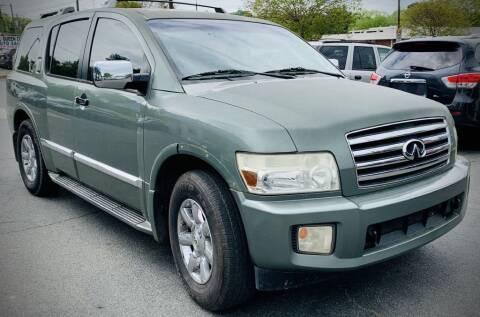 2005 Infiniti QX56 for sale at RD Motors, Inc in Charlotte NC