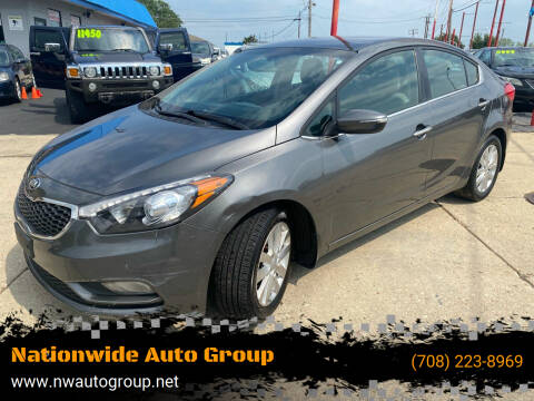 2014 Kia Forte for sale at Nationwide Auto Group in Melrose Park IL