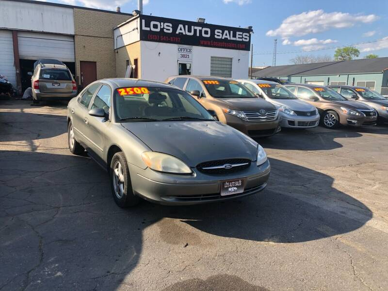 2002 Ford Taurus for sale at Lo's Auto Sales in Cincinnati OH