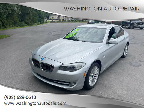 2011 BMW 5 Series for sale at Washington Auto Repair in Washington NJ