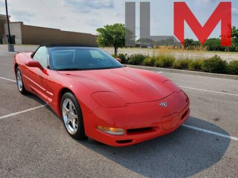 2003 Chevrolet Corvette for sale at INDY LUXURY MOTORSPORTS in Fishers IN