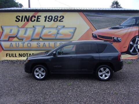 2014 Jeep Compass for sale at Pyles Auto Sales in Kittanning PA