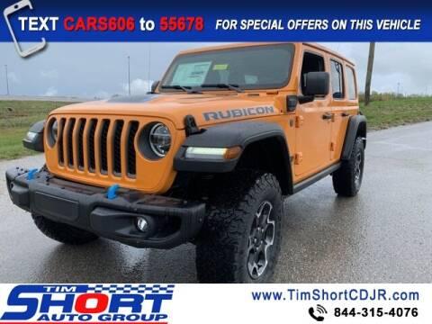2021 Jeep Wrangler 4xe for sale at Tim Short Chrysler in Morehead KY