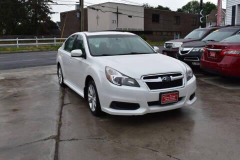 2014 Subaru Legacy for sale at New Park Avenue Auto Inc in Hartford CT