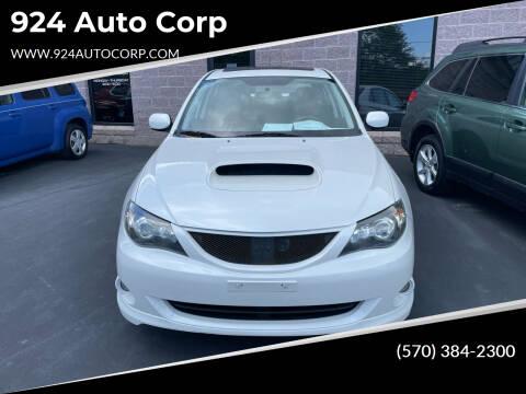 2009 Subaru Impreza for sale at 924 Auto Corp in Sheppton PA